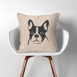 Boston Terrier Hund Kissenbezüge & Kissenhüllen (PW-0157)