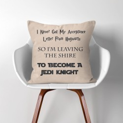 Star Wars Harry Potter Jedi Knight  Linen Cotton throw Pillow Cover (PW-0192)