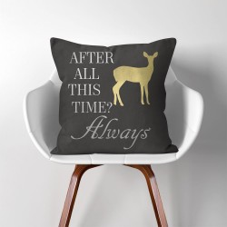 Always After All This Time? Harry Potter V.2  Linen Cotton throw Pillow Cover (PW-0210)