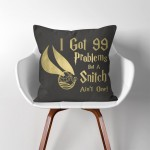 Harry potter Quote  Linen Cotton throw Pillow Cover
