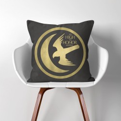 Arryn As High As Honor Game of Thrones  Linen Cotton throw Pillow Cover (PW-0290)