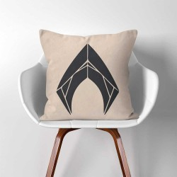 Aquaman symbol  Linen Cotton throw Pillow Cover (PW-0351)