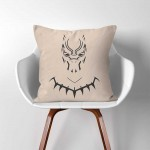 Black Panther  Linen Cotton throw Pillow Cover