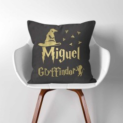 Personalized Name Sorting Hat Gryffindor Harry Potter throw Pillow Cover (PW-0354)