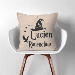 Eigene Name Sorting Hat Ravenclaw Harry Potter Kissenbezüge & Kissenhüllen (PW-0355)