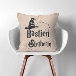 Personalized Name Sorting Hat Slytherin Harry Potter throw Pillow Cover