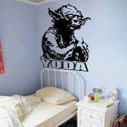 Jedi Master Yoda Vinyl Wall Art Decal (WD-0002)