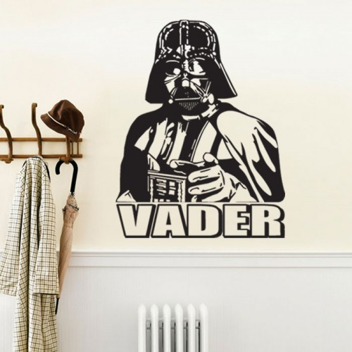 darth vader star wars vinyl wall decal online buy wholesale star wars stickers from china star