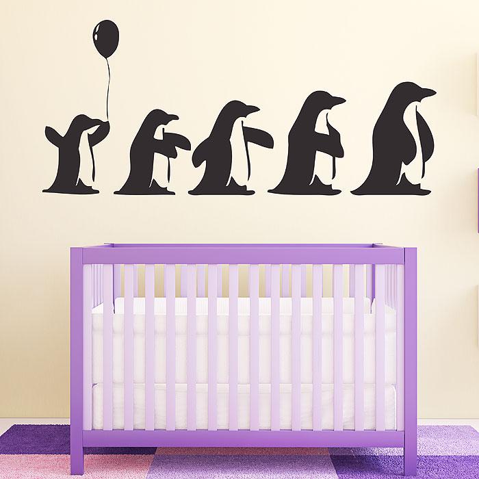 Penguins Vinyl Wall Art Decal
