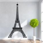 สติกเกอร์ติดผนัง หอไอเฟล Eiffel Tower Wall Decal