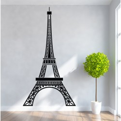 สติกเกอร์ติดผนัง หอไอเฟล Eiffel Tower Wall Decal (WD-0025)