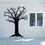 สติกเกอร์ติดผนัง ต้นไม้ Tree during Fall Wall Sticker