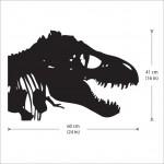 สติกเกอร์ติดผนัง ภาพ ไทแรนโนซอรัส T-Rex Dinosaur Wall Sticker