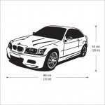 BMW Car Vinyl Wall Art Decal