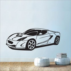 Classic Car Vinyl Wall Art Decal (WD-0044)