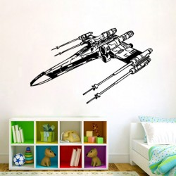 Star Wars X-Wing Starfighters Vinyl Wall Art Decal (WD-0045)