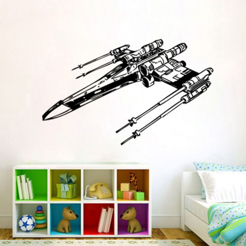 Star Wars X-Wing Starfighters Vinyl Wall Art Decal