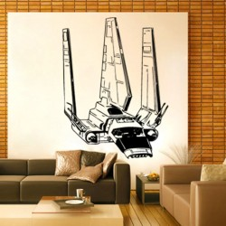 Tyridium Shuttle Vinyl Wall Art Decal (WD-0047)