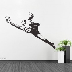 Play Football Vinyl Wall Art Decal (WD-0050)
