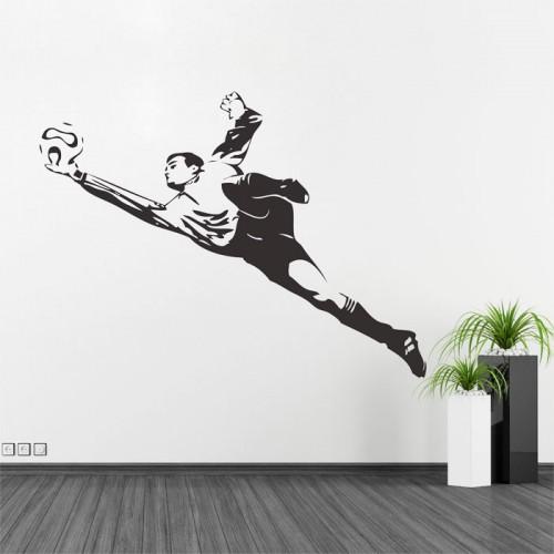 สติกเกอร์ติดผนัง เล่นฟุตบอล Play Football Wall Sticker
