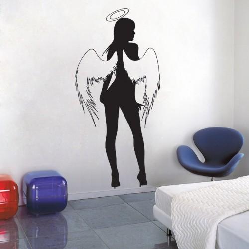 สติกเกอร์ติดผนัง Sexy Angel Wall Sticker