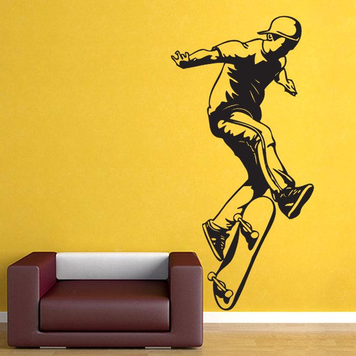 Skateboarding Vinyl Wall Art Decal
