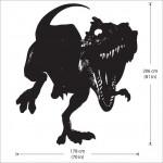 สติกเกอร์ติดผนัง T-Rex Tyrannosaurus Dinosaur Wall Sticker