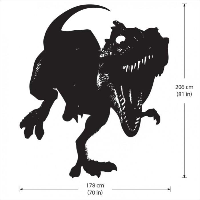 T Rex Tyrannosaurus Dinosaur Vinyl Wall Art Decal