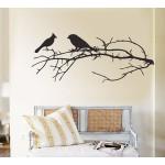 สติกเกอร์ติดผนัง Birds on Branch Wall Sticker