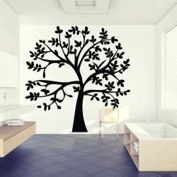 สติกเกอร์ติดผนัง ภาพ ต้นไม้ Tree Branch Wall Tattoo (WD-0081-B)