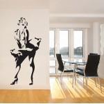 สติกเกอร์ติดผนัง ภาพ มาริลิน มอนโร Marilyn Monroe Wall Sticker