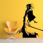 สติกเกอร์ติดผนัง ภาพ Bleach zaraki kenpachi Wall Sticker