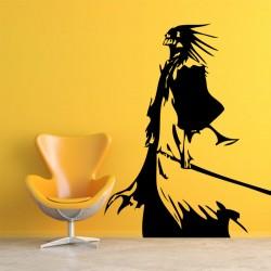 สติกเกอร์ติดผนัง ภาพ Bleach zaraki kenpachi Wall Sticker (WD-0093)