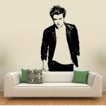 สติกเกอร์ติดผนัง Robert Pattinson Twilight Movie #3 Wall Sticker