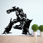 Transformers Optimus Prime Vinyl Wall Art Decal