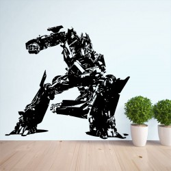 Transformers Optimus Prime Vinyl Wall Art Decal (WD-0097)