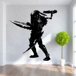 สติกเกอร์ติดผนัง ภาพ พรีเดเตอร์ Celtic Predator Wall Art (WD-0099)