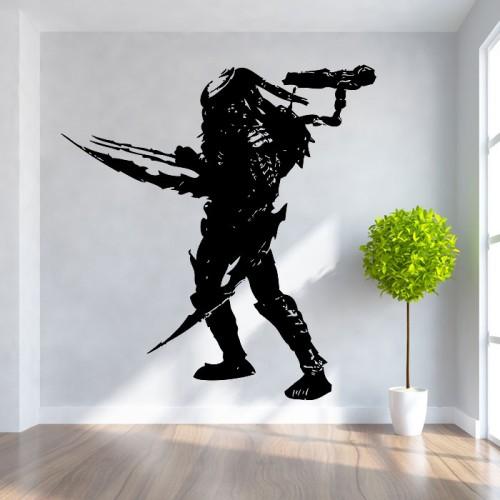 สติกเกอร์ติดผนัง ภาพ พรีเดเตอร์ Celtic Predator Wall Art