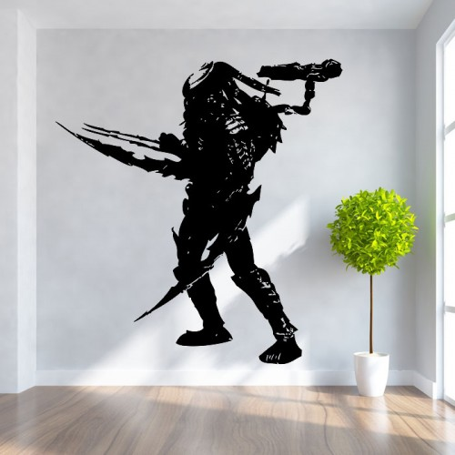 Celtic Predator Vinyl Wall Art Decal