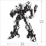 สติกเกอร์ติดผนัง ภาพ Transformers Bumblebee Wall Tattoo