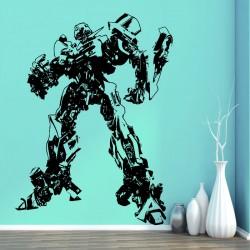 สติกเกอร์ติดผนัง ภาพ Transformers Bumblebee Wall Tattoo (WD-0100)