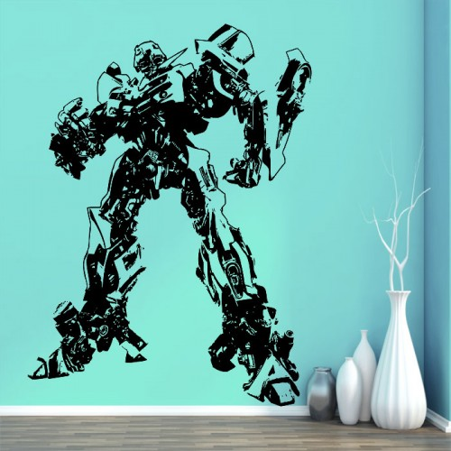 Transformers Bumblebee Vinyl Wall Art Decal
