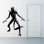 สติกเกอร์ติดผนัง ภาพ เอเลี่ยน AVP Grid Alien Wall Art