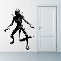 สติกเกอร์ติดผนัง ภาพ เอเลี่ยน AVP Grid Alien  Wall Art  (WD-0101)