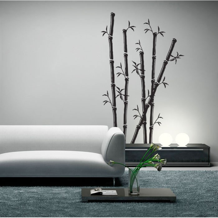 Bamboo Wall Art art vinyl wall art decal
