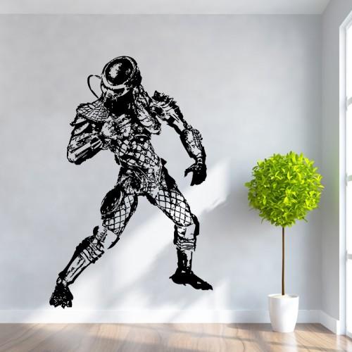 สติกเกอร์ติดผนัง พรีเดเตอร์ Predator Wall Sticker