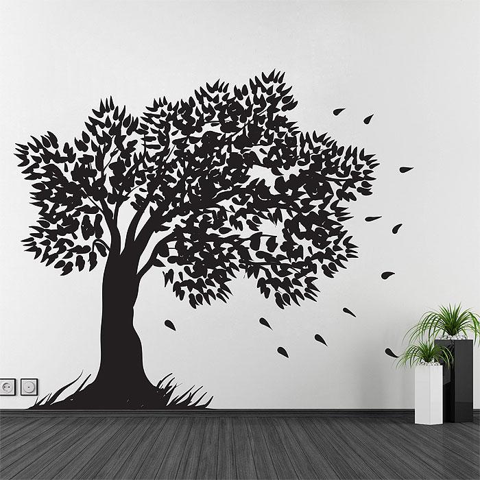 Tree Large Vinyl Wall Art Decal da914293b82b