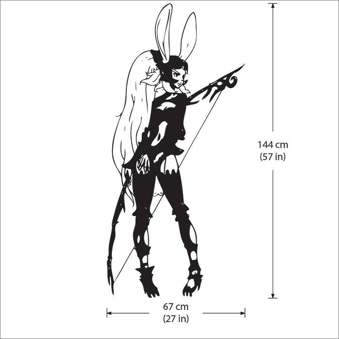 Fran Final Fantasy Xii Vinyl Wall Art Decal