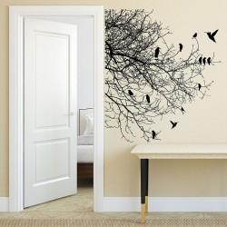 สติกเกอร์ติดผนัง Tree Branch With Birds  Wall Sticker (WD-0161)