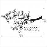 สติกเกอร์ติดผนัง Flowers Branch Wall Sticker